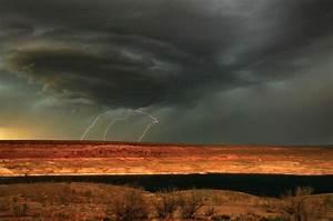 Riding Out A Desert Thunderstorm