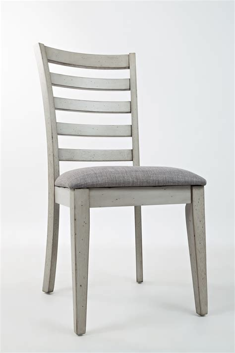 ladder back seat dining chairs ladder back dining chair with upholstered seat by jofran 9668