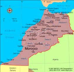 Morocco Tourist Guide, Geography of Morocco Morocco