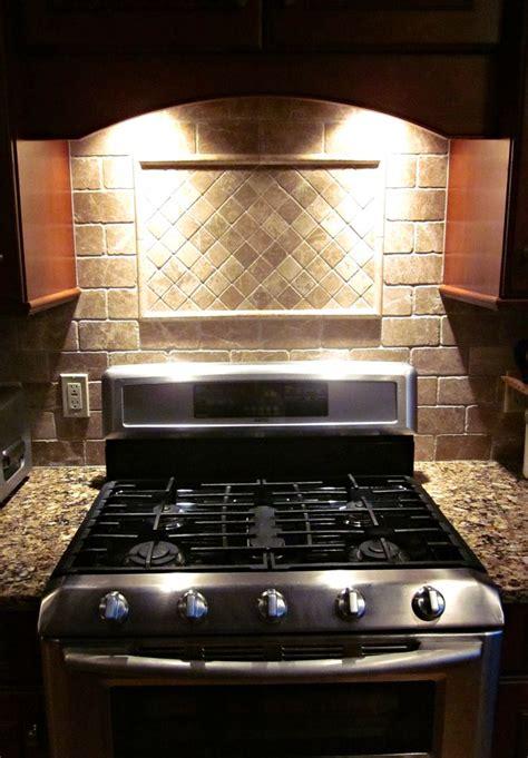 tumbled marble kitchen backsplash tumbled marble backsplash some of s work 6392