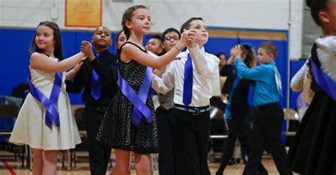 covert elementary school students earn silver ballroom dancing