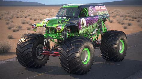grave digger monster truck images grave digger monster 3d model