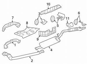 Pontiac Montana Exhaust Bracket