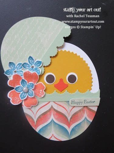 images  stamping ideas easter  pinterest