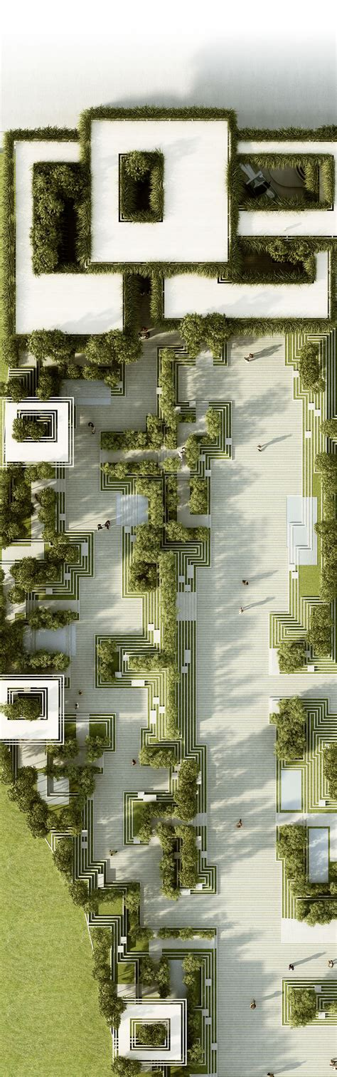 architecture project names the project describes a landscape design and facade design for a residential development in