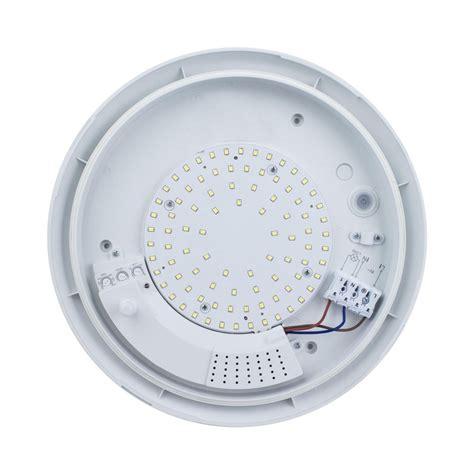 Plafonnier u00e0 LED avec du00e9tecteur de mouvement 16W - LEDKIA FRANCE