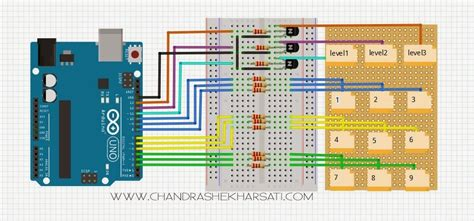 of a 3x3x3 led cube arduino style chandra shekhar sati