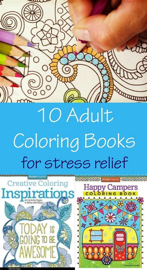 adult coloring books  stress relief bloggers
