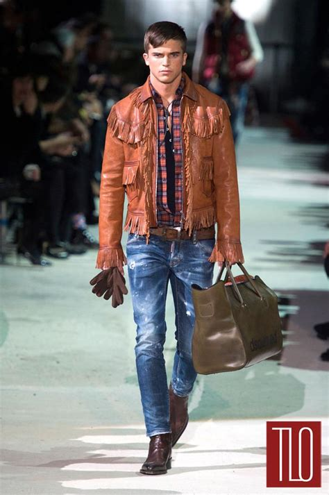 dsquared fall menswear collection tom lorenzo
