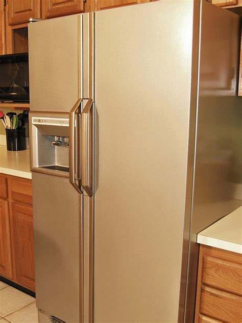 How to Update Your Kitchen with Stainless Steel Paint   DIY