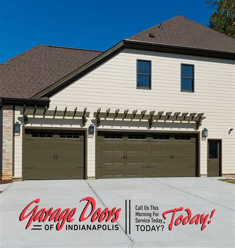 garage door styles garage doors  indianapolis