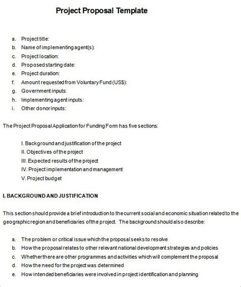 creative project proposal word template 18 project proposal templates pdf free premium word