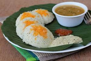 Carrot Idli - Breakfast Recipes for Tiffin - South Indian ...