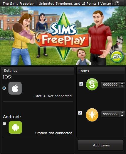 sims freeplay hack cheats tool version