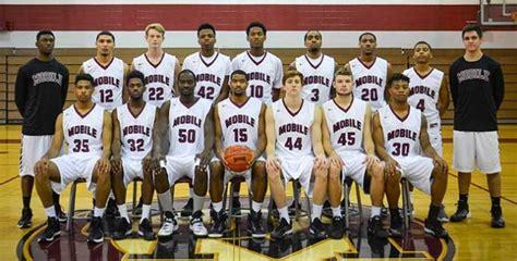 mens basketball roster university  mobile