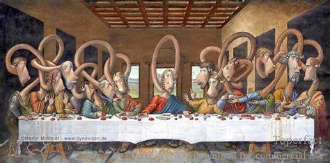 oil reproduction  leonardo da vinci  supper painting