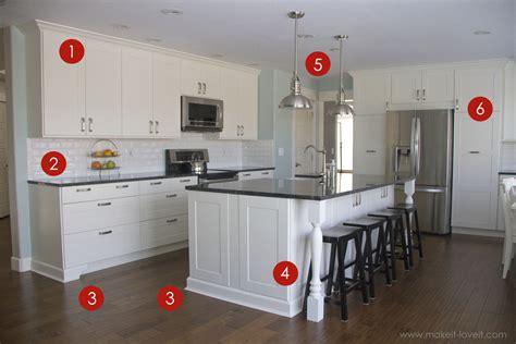 trim around kitchen cabinets home improvement adding column supports to counter