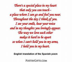 Spanish Love Poem Photo Album