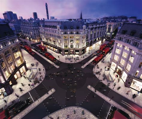 imagining oxford circus building architects journal