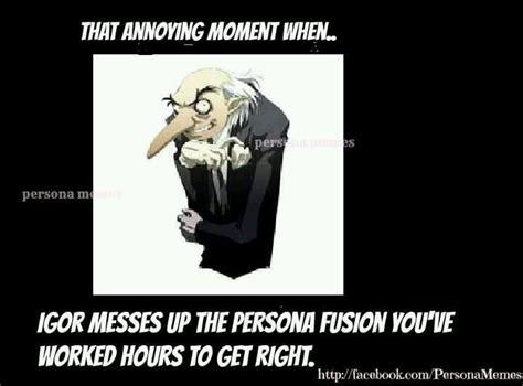 Persona Memes - persona 3 meme igor video games pinterest haha meme and chang e 3
