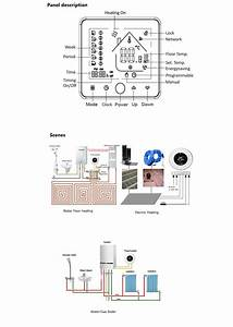 Wifi Smart Thermostat Thermometer Hygrometer Temperature Instruments For Water  Electric Floor