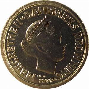 10 Kroner - Margrethe II (2nd portrait) - Denmark – Numista