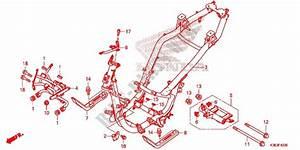 Frame For Honda Pcx 150 2016   Honda Motorcycles  U0026 Atvs