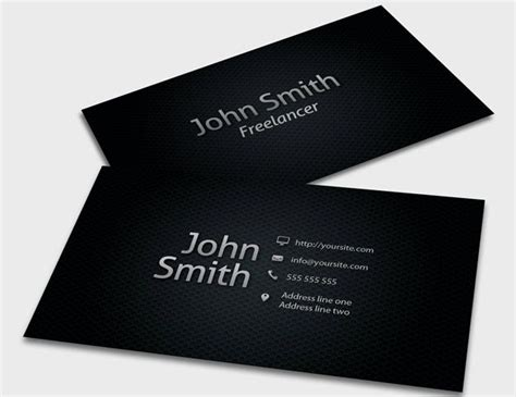 personal business cards bing images  card design