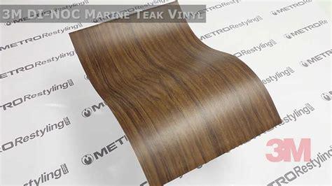Veneer Boat Transom by 3m Dinoc Marine Teak Wood Vinyl