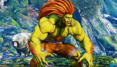Street Fighter V Shows Off The Long Awaited Blanka In An