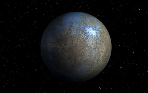 Water Vapor Detected On Dwarf Planet