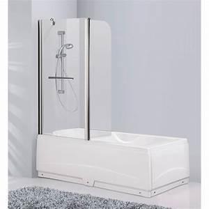 pare baignoire pare baignoire baignoire salle de With porte gel douche baignoire