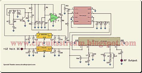Gift Mobile Phone Jammer Circuit Diagram Electronic