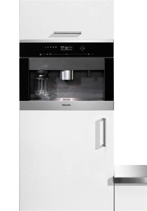 Einbau Kaffeevollautomat Mit Festwasseranschluss miele einbau kaffeevollautomat cva 6401 integrierter