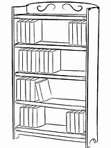 Bookcase Drawing Bookshelf Draw Coloring Shelf Bookshelves Simple Library Drawings Clipart Tocolor Clip Journal Learn Paintingvalley Adult Bullet Step Rating sketch template