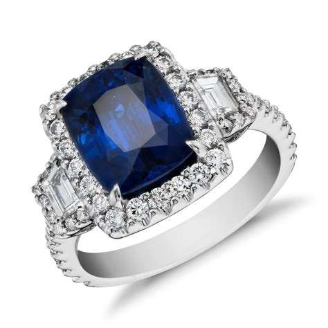 Gorgeous Blue Sapphire Rings At Blue Nile Jewelry. Honeycomb Engagement Rings. Solitaire Wedding Rings. Blessing Wedding Rings. 6 Stone Rings