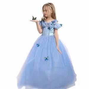 filles reine des neiges princesse partie costumee With robe deguisement fille
