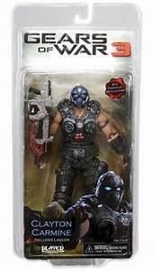 Clayton Carmine Action Figure Series One Gears Of War