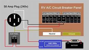 50 Amp Rv Wiring Diagram Trailer