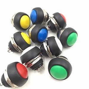 Mini Interrupteur Poussoir : 10 pcs petit bouton rond commutateur bouton poussoir ~ Edinachiropracticcenter.com Idées de Décoration