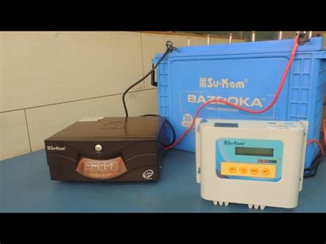 How Convert Your Any Inverter Battery Setup Into Solar