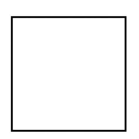 square coloring pages square shape to color coloring