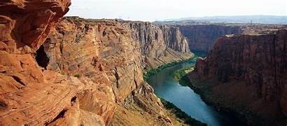 Colorado River Canyon Usa Trip Float Towers