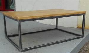 Table En Acier : table en acier table basse table pliante et table de cuisine ~ Teatrodelosmanantiales.com Idées de Décoration