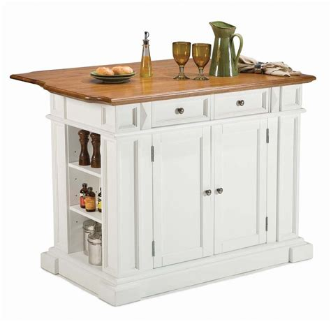 white island kitchen shop home styles white farmhouse kitchen islands at lowes com