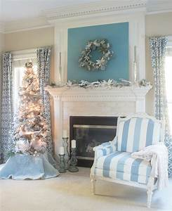 Christmas, Mantel, Ideas, To, Turn, Your, Home, Into, A, Winter, Wonderland