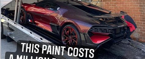 """Really kind of messes with it. Bugatti Divo """"Ladybug"""" Custom Paint Scheme Reportedly Costs $1 Million - autoevolution"""