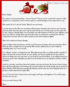 quotmom how can santa be realquot the truth about santa the With authentic santa letter