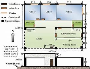 Schematic Of The Small Commercial Building