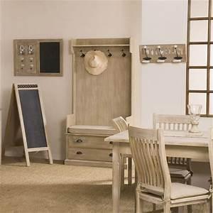 Porte Manteau Entrée : seville meuble portemanteau 2 tiroirs achat vente ~ Melissatoandfro.com Idées de Décoration